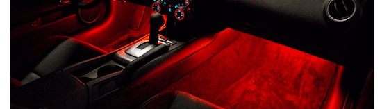 Camaro LED interior lights by Oracle Lighting