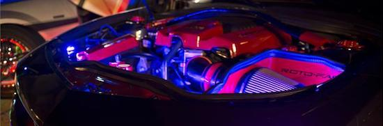 Camaro Engine bay LED lights by Oracle