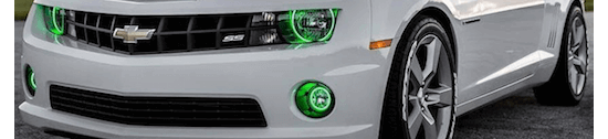 Chevy Camaro LED Halo fog Lights by Oracle lighting