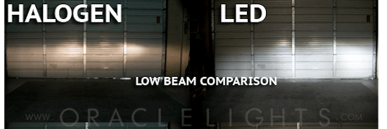 Camaro LED replacement bulbs for high beam and low beam